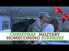 Christmas Military Homecoming Surprises