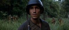 The Thin Red Line - the moment Witt knows he's about to die