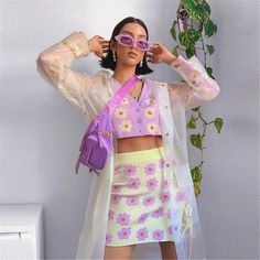 Look Fashion, Spring Fashion, Fashion Outfits, 2000s Fashion, Pastell Fashion, Looks Style, My Style, Summer Outfits, Cute Outfits