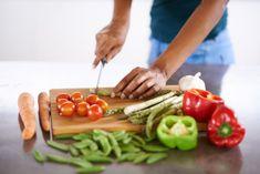 repas de régime : plat léger avec des légumes