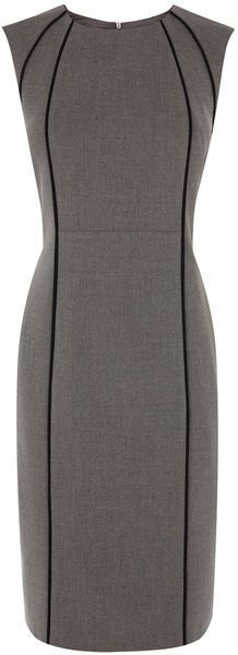 54 trendy dress skirt outfits black and white Formal Dress Shops, Formal Evening Dresses, Cute Dresses, Beautiful Dresses, Dresses For Work, Office Dresses, Work Fashion, Fashion Design, Work Attire