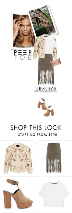 """""""#401"""" by smiljana-s ❤ liked on Polyvore featuring Brownstone, Needle & Thread, MuuBaa, Rebecca Minkoff, Pinko and Givenchy"""