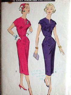 Advance+Dress+Pattern+No+8556+UNCUT+Vintage+by+CaliforniaSunset,+$15.00