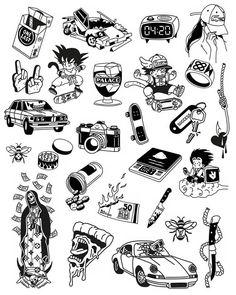 Tattoos Discover Tattoo sketches 452822937535066224 - Source by Kritzelei Tattoo, Doodle Tattoo, Poke Tattoo, Body Art Tattoos, Sleeve Tattoos, Ankle Tattoos, Tiny Tattoo, Ship Tattoos, Glyph Tattoo