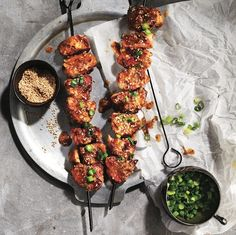 Miso-maple pork tenderloin skewers - Chatelaine