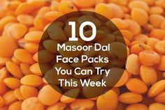 Pulses found in the kitchen can serve as the best skin care ingredients for our beauty regimen. Here we tell you about how to use masoor dal face packs for skin care. The Effective Pictures We Offer Y Dry Skin On Face, Face Skin Care, Diy Skin Care, Natural Beauty Tips, Natural Skin Care, Natural Cures, Homemade Face Pack, Masoor Dal, Skin Care Remedies