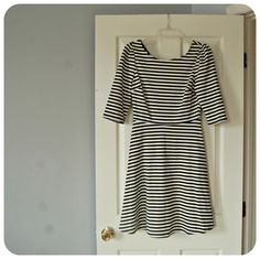 pixley Kathy Striped Fit and Flare