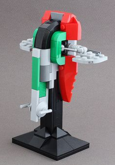 A variation on the LEGO Brickmaster Slave I.