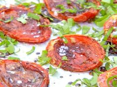 Barefoot Contessa Roasted Tomatoes Recipe from Food Network