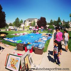 The Fun Cheap or Free Queen: How to hold a successful garage sale! A step-by-step guide.