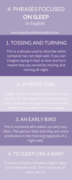 Using expressions for your everyday English! Which one best describes how you sleep generally?