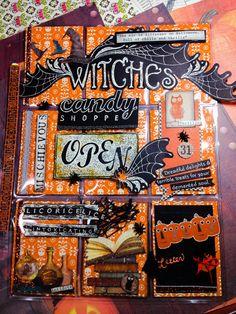 """""""Mischievous"""" Halloween Pocket Letter"""
