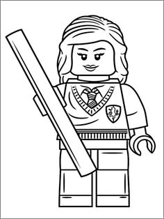 Lego Harry Potter Coloring Pages 5