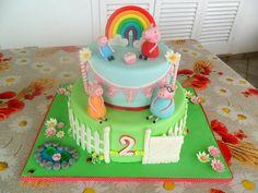 Peppa Pig cake - Cake by Sloppina in cucina