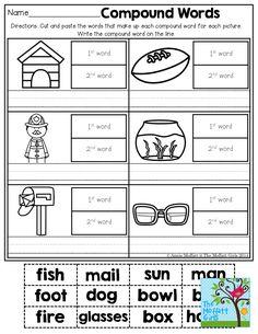 photos spelling out words make compound words food printable worksheet put two words together. Black Bedroom Furniture Sets. Home Design Ideas