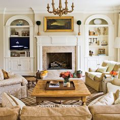 Achieve Balance - 104 Living Room Decorating Ideas - Southern Living