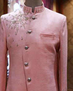 Dress Suits For Men, Mens Suits, Mens Sherwani, Men Online, Wedding Groom, Peach Colors, Classic White, Chef Jackets, Mens Fashion