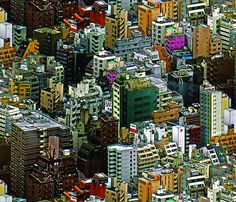 Tokyo Forever fabric by chris on Spoonflower - custom fabric