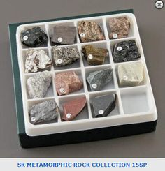 Metamorphic Rocks Collection. Item: 6399800. View this collection and others on our website: https://wardsci.com/store/catalog/product.jsp?catalog_number=6399800