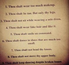 Irish Dance Commandments, haha story of my life!!! I am an Irish dancer and will always be, no one will be able to take that away from me!