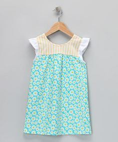 Take a look at this Blue Daisy Daphna Dress - Infant, Toddler & Girls by Blueberry Twirl on #zulily today!