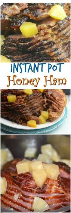 Instant Pot Honey Ham