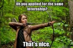 Internships: The New Hunger Games