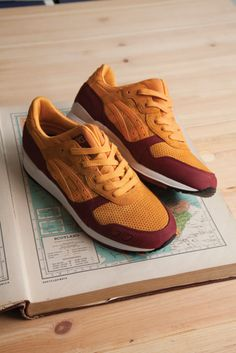 on sale 4ead0 50701 Hanon x ASICs Gel Lyte III Sneaker Stiefel, Schuhe Turnschuhe, Onitsuka  Tiger, Crepes