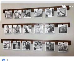Photo Hanging, Hanging Photos, Mint Living Rooms, Living Spaces, Display Photos, Photo Displays, Photo Walls, Display Design, Decoration