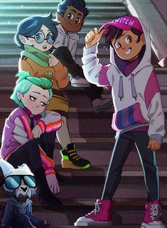 Disney Horror, Animes Yandere, Character Art, Character Design, Owl House, Cute Gay, Disney Cartoons, Animation Film, Cartoon Art