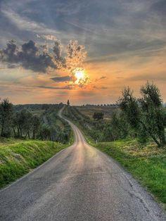 Sunset ~ Italia