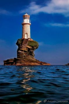 Lighthouse ~ Greece