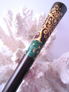 The Princess Eve Tree of Life Hair Stick by TimberstoneTurnings