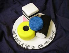 Liquorice Allsorts cake Best Picture For Cake Design for him For Your Taste You are looking for something, and it is going to tell you exactly what you are looking for, and you didn't f 70th Birthday Cake For Men, Bithday Cake, 70 Birthday, Birthday Parties, Daddy Birthday, Birthday Cupcakes, Big Cakes, Fancy Cakes, Dad Cake