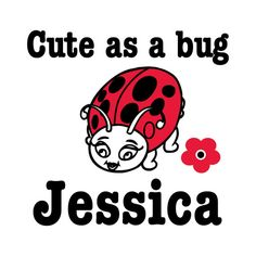Personalized Cute as a Bug Ladybug Onesie or toddler tees by Davet Designs, $15.50. We offer onesies, toddler tees, kids t-shirts and adult t-shirts in support of Plagiocephaly, Brachycephaly, Torticollis and any other reason your child might have to wear a cranial band or helmet. Most people do not understand why your little one is wearing their helmet and often stare. Break the ice and make light of the helmet or band with fun onesies and tees.