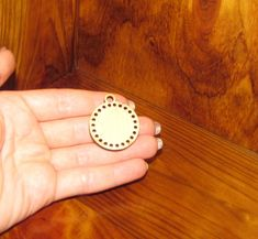 Embroidery Blanks, Wooden Gifts, Laser Cut Wood, Round Pendant, Plywood, Stitches, Gemstone Rings, Anniversary, Gemstones