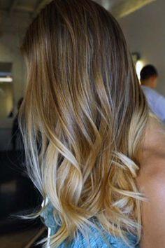 TOP 35 Ombre Hair Loiros: Fotos, Dicas, Vídeo, Tutorial!