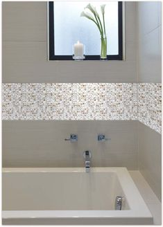 Beautiful Mother of Pearl Tile for Bathroom Wall Tiles and Kitchen ...another good example