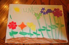 Planting a Rainbow by Lois Ehlert -craft