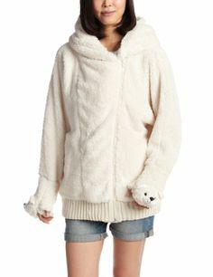 Amazon.co.jp: (パワートゥジアニマル)POWER TO THE ANIMAL モフモフ素材×クマ顔グローブ×フード付きジップゆるパーカー: 服&ファッション小物