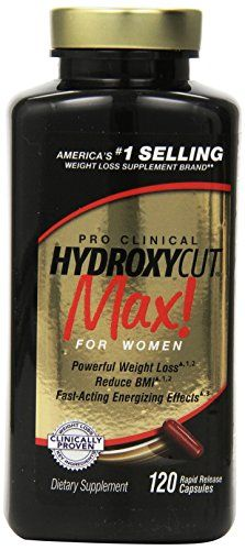 Hydroxycut Max-Pro Clinical Weight Loss For Women, 120 Capsules, Fast-Acting Energizing Effects Hydroxycut http://www.amazon.com/dp/B004KQBGDA/ref=cm_sw_r_pi_dp_0iG.ub0W7VMKT