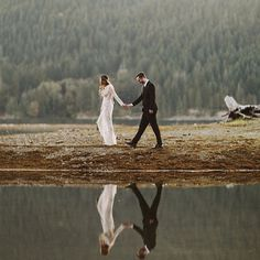 The swoon-worthy Lake Cushman wedding of with hearts and  bethany marieco has…