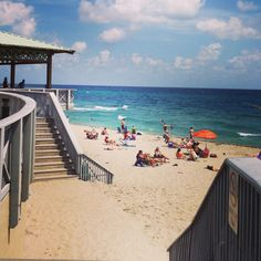 Boca Ratón, Florida. The Beach Pavilion where we all met to hang out on those awesome weekend evenings during high school. Boca was a sleepy little seaside town of 6,000 back in the day...
