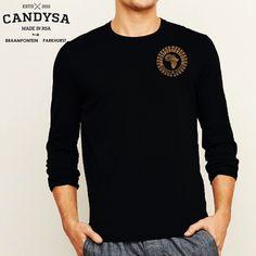 CandySA | Africrest Long Sleeve T Shirt Blk