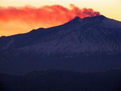 Etna, eruzione 12/01/2011