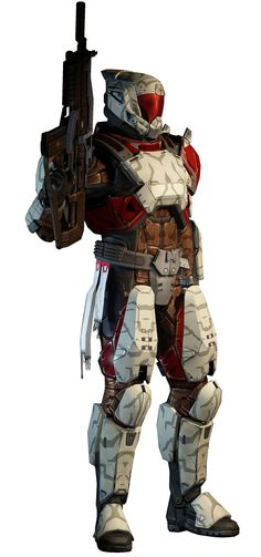 Destiny----Titan, Level 6
