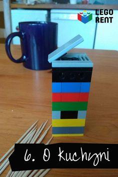 Tohtotýždňový tip bude nanajvýš praktický a pritom zábavný aj pre deti. A vlastne budú Lego tipy hneď 2. A k tomu aj odporúčanie na skvelú knihu. Lego, Tableware, Dinnerware, Dishes, Legos, Serveware
