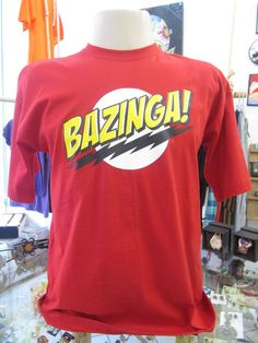 Camiseta Bazinga Tamanho M R$39,00