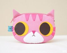 Pinky Paotoong coin purse by mochikaka on Etsy
