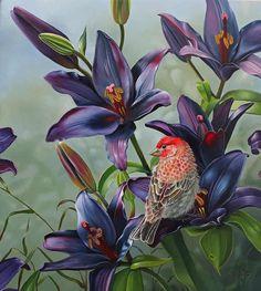 olieverf op paneel Surreal Art, Bird Art, Surrealism, Illustration, Birds, Artist, Painting, Animals, Oil